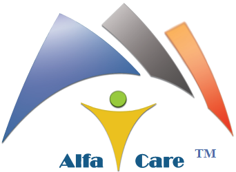 Official Alfa Care Health Centre Logo